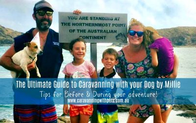 The Ultimate Guide to Caravanning with your dog by Millie